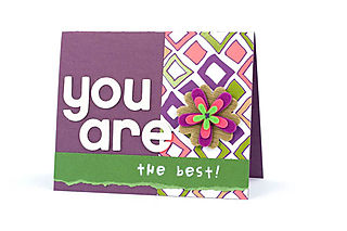 Card_UR_TheBest_Cardstock