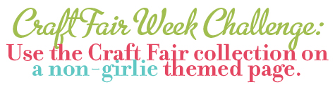 Craft fair challenge