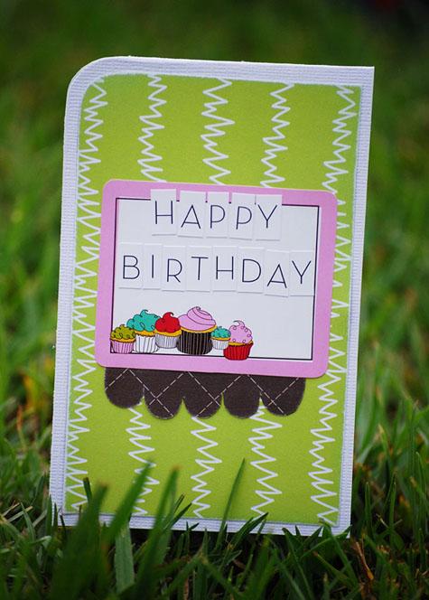 Happy Birthday card - Belinda Venables