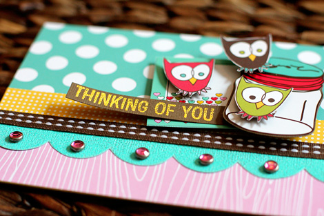 Ac thinking of you card - DETAIL - susan weinroth