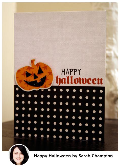 Happy Halloween Sarah