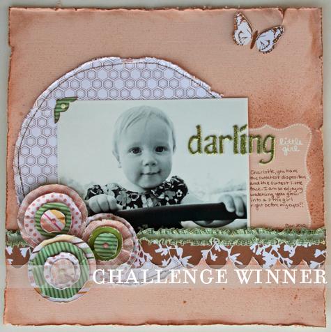 Darling little girl