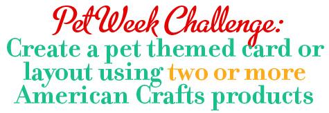 Pet challenge