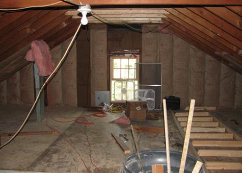 First attic