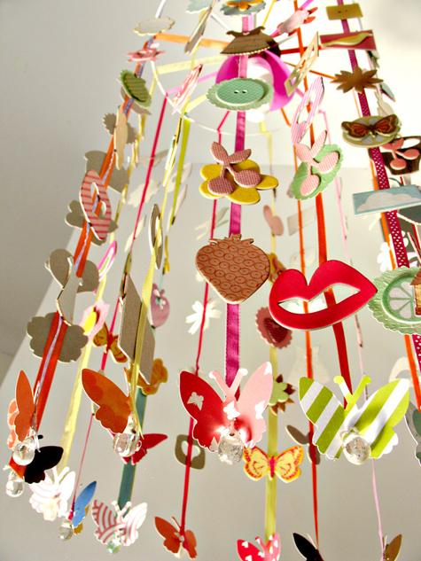 Cute Lamp Shades On American Crafts Studio Blog Ribbon House Shade