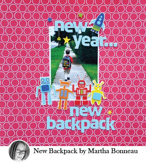 New Backpack by Martha Bonneau