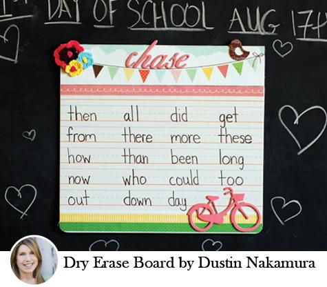 Dry Erase Board by Dustin Nakamura