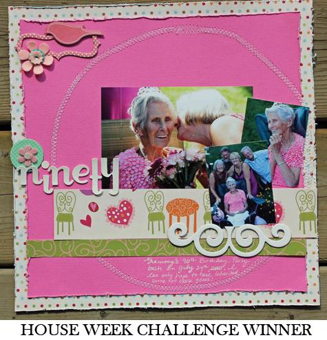 House Week Challenge Winner