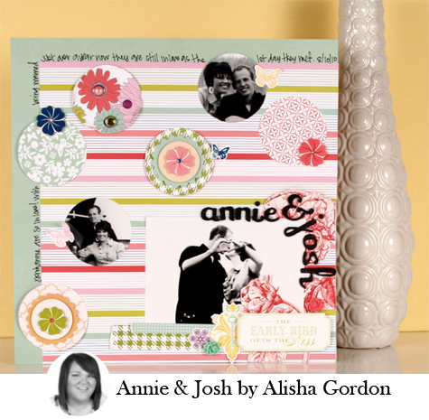 Annie & Josh by Alisha Gordon
