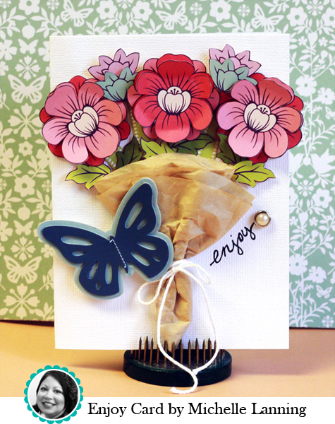 Enjoy Card by Michelle Lanning