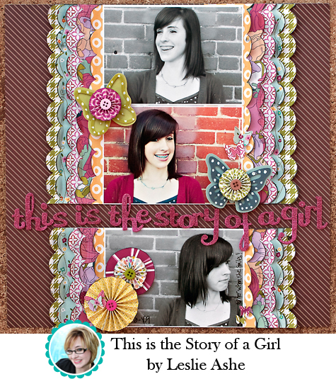 This is the Story of a Girl by Leslie Ashe
