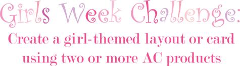 Girls Week Challenge
