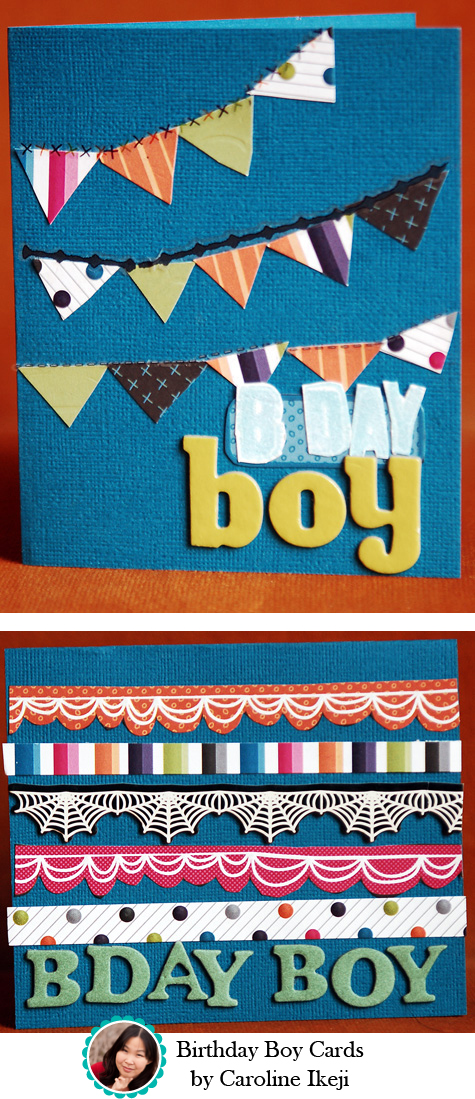 Birthday Boy Cards by Caroline Ikeji