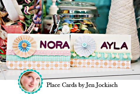 Place Cards by Jen Jockisch