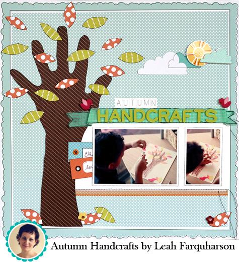 Autumn Handcrafts by Leah Farquharson