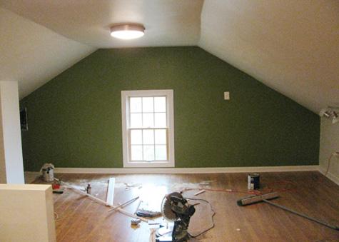 Second attic