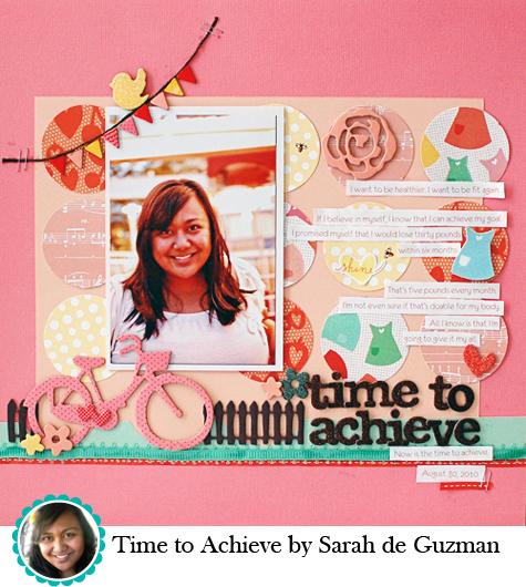 Time to Achieve by Sarah de Guzman