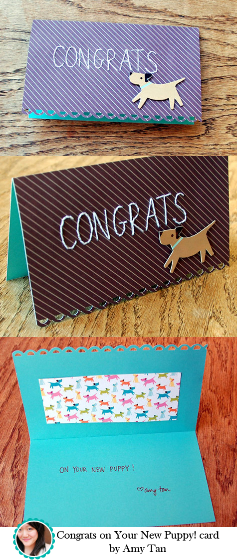 Congrats Card by Amy Tan