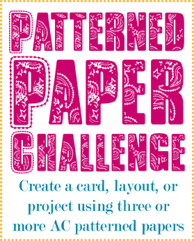 Patterned Paper Challenge