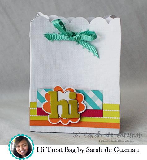 Hi Treat Bag by Sarah de Guzman