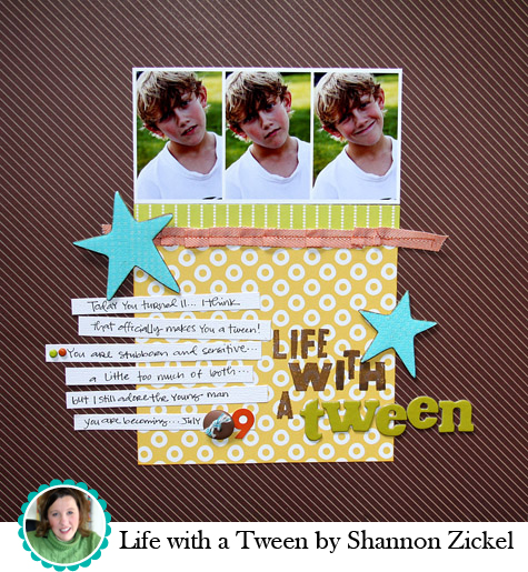 Life with a Tween by Shannon Zickel