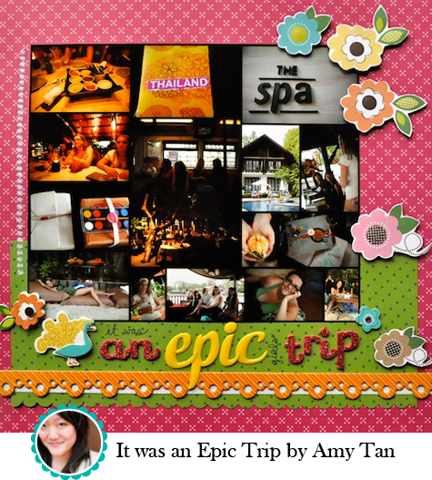 It was an Epic Trip by Amy Tan