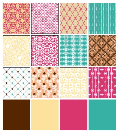 Pocket patterns
