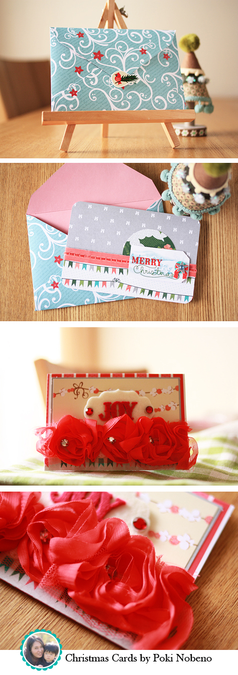 Christmas Cards by Poki Nobeno