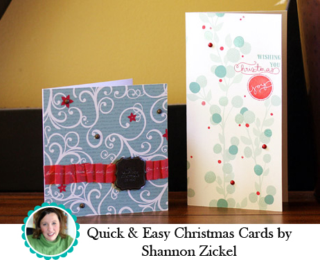 Q&E Christmas Cards by Shannon Zickel