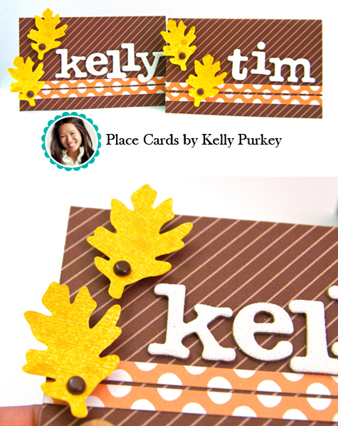Place Cards by Kelly Purkey