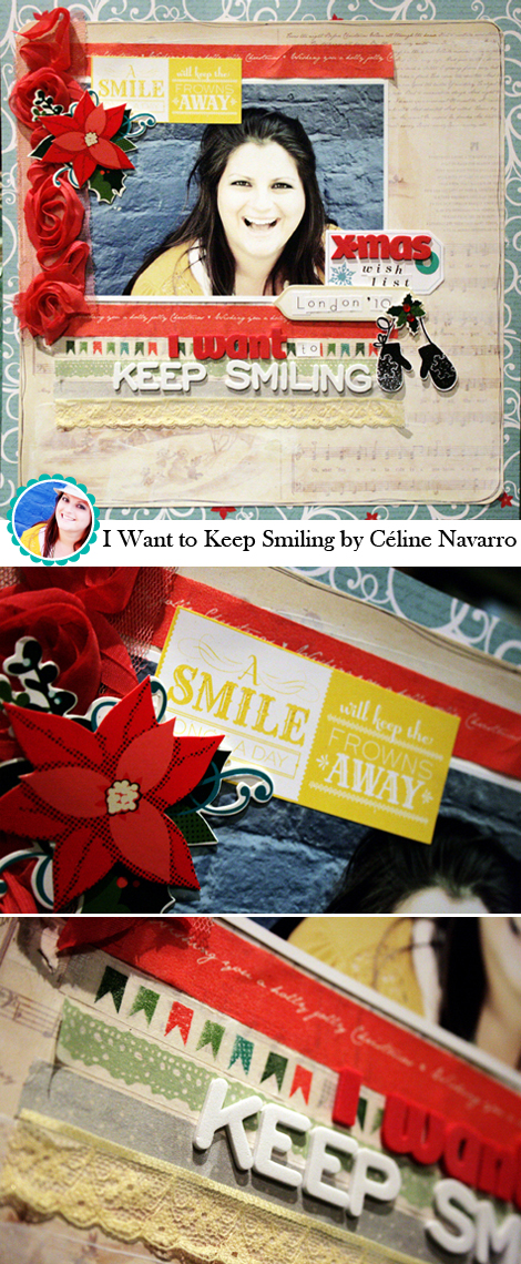 I Want to Keep Smiling by Céline Navarro