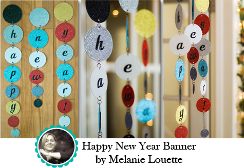 New Year Banner by Melanie Louette