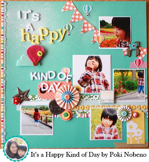 It's a Happy Kind of Day by Poki Nobemo