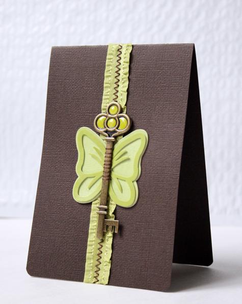 Butterfly card 01