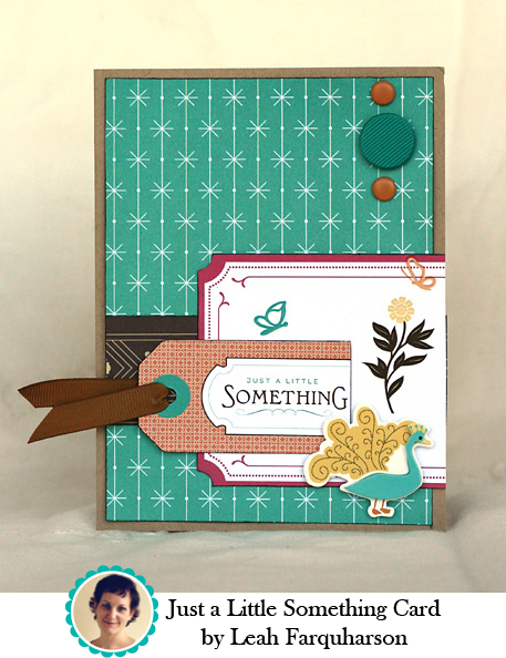 Just a Little Something Card by Leah Farquharson