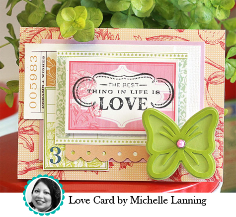 Love Card by Michelle Lanning