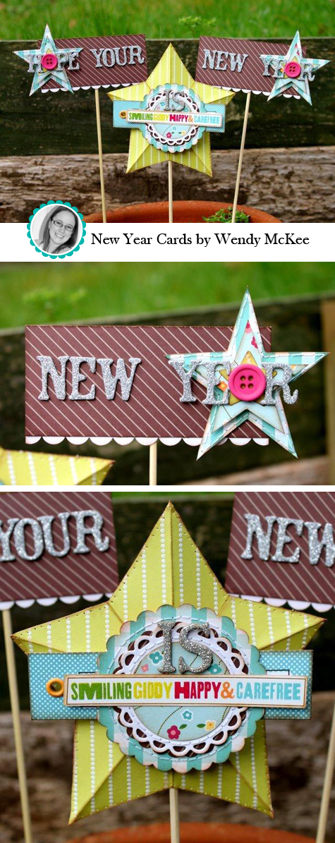 New Year Cards by Wendy McKee
