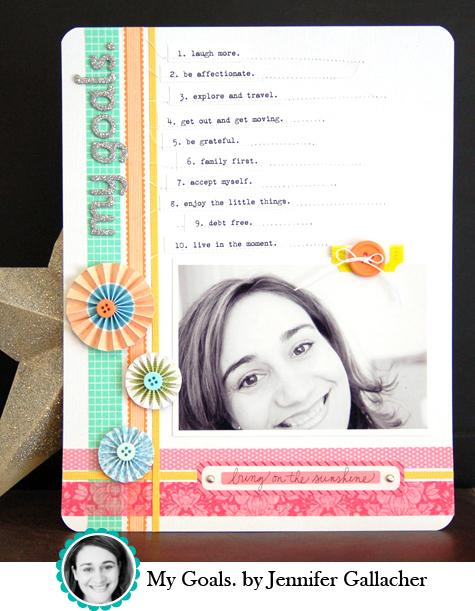 My Goals by Jennifer Gallacher