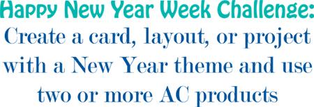 Happy New Year Week Challenge