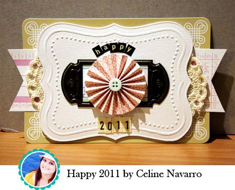 Happy 2011 by Céline Navarro