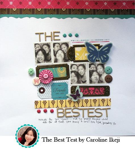 The Best Test by Caroline Ikeji