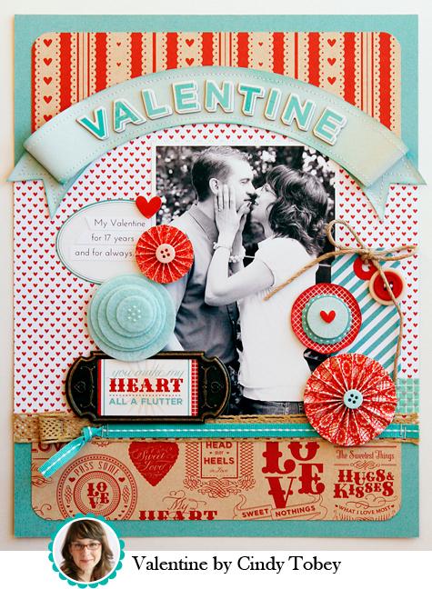 Valentine by Cindy Tobey