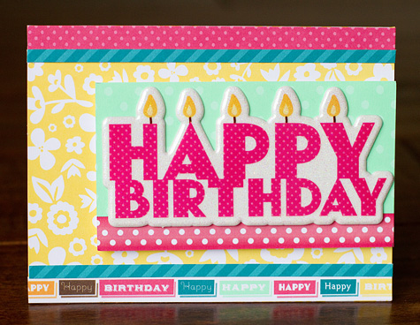Ac blog - happy bday with candles card - susan weinroth