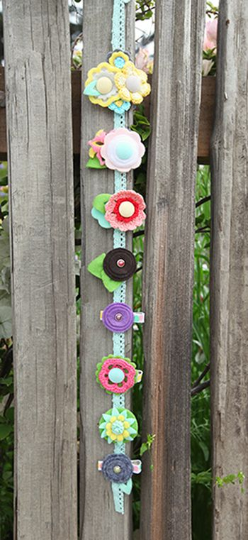 Amy Parker Barrettes American Crafts GDT