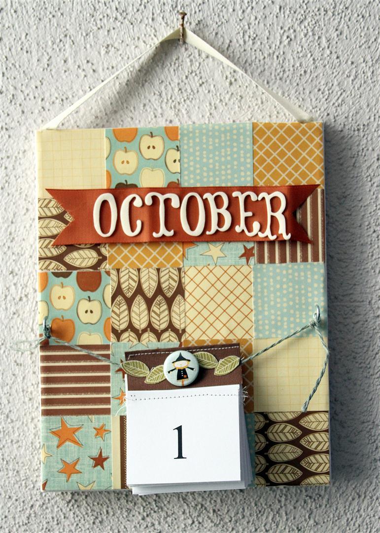 Halloween Advent Calendar By Heidi Sonboul