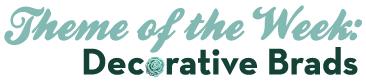 Decorative brads logo