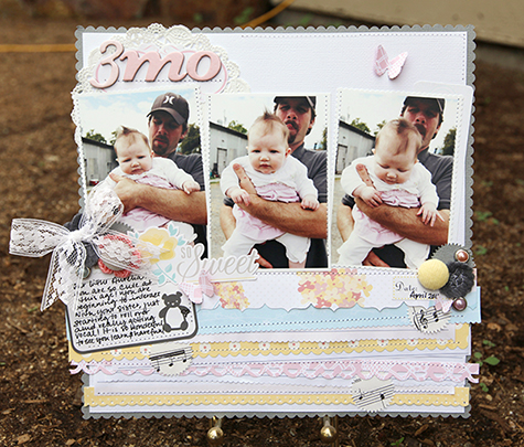 Amy Parker 3 mo American Crafts