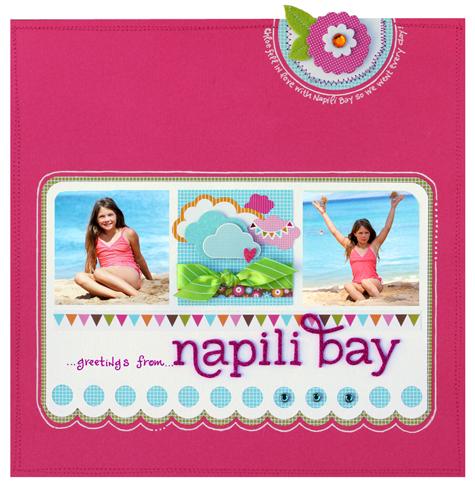 Greetings from napili bay small