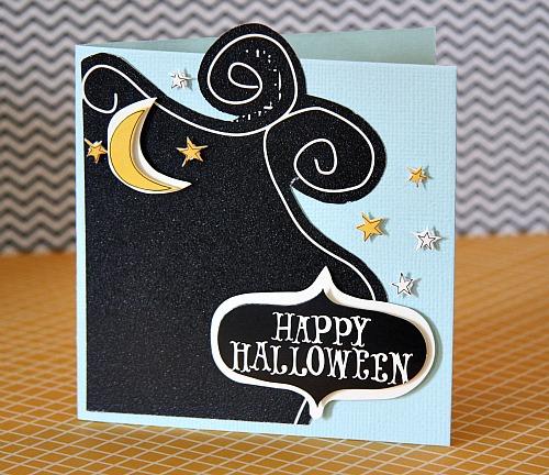 October AC h ween card happy hween