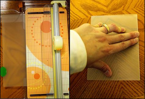 american crafts studio blog christmas notebook tutorial by mandy